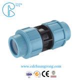 PP Adaptador de compresión para el suministro de agua