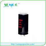 condensateur en aluminium de ventilateur de condensateur démarrant de condensateurs électrolytiques de 8200UF 350V