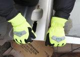 연약한 합성 가죽 기계적인 안전 일 장갑