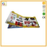 Service d'impression de livre de carton d'enfants (OEM-GL002)