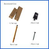 Decking/suelo compuestos plásticos de madera decorativos huecos Fácil-Instalados textura de madera