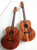 Guitarra acústica de Koa del mejor precio de la fábrica de la guitarra de Aiersi