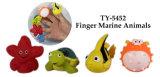 Nuevo juguete divertido de los animales del puerto deportivo del dedo