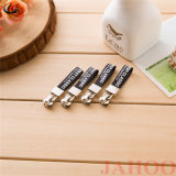 Kundenspezifischer Firmenzeichen-Farbband-Reißverschluss-Abzieher mit Metallreißverschluß