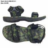 Fashion Camo Color Sport homens sandálias, Slingback Sandals