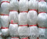 Rete da pesca di nylon bianca dell'attrezzatura di pesca del monofilamento