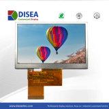Module d'affichage TFT LCD 4,3 pouces 480X272 broche 24bit RVB 45300cd/m2 C