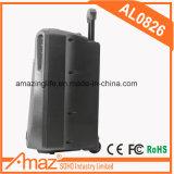 Haut-parleur en plastique de chariot avec la lumière/Bluetooth