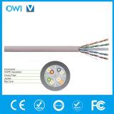 Typ voller Zug-Kasten des Ethernet-Kabel-CAT6 U/UTP 550MHz UTP des kupfernen Draht-UTP bewertete (cm) angeschwemmt