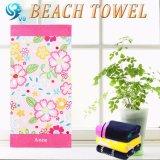 Brillamment essuie-main de plage de configuration de fleurs