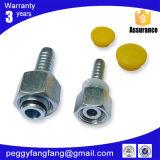 Guarnición femenina ajustable apropiada común mecánica apropiada común mecánica de la terminal del tubo del arrabio