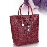 ワニの皮の革女性ハンドバッグの中国の製造者Emg5145からの流行の女性のつま先袋そして小さいMOQ袋