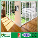 Finestra di vetro di alluminio standard australiana della feritoia
