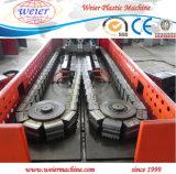 Línea acanalada de un sólo recinto de la protuberancia de los tubos del conducto del PVC del plástico