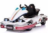 2017 Nuevo Go Kart eléctrico de tres asientos para niños