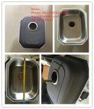 台所の流し、棒流し、ステンレス鋼の小さい単一の流し、ハンドメイドの流し