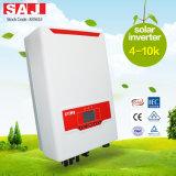 Alta qualità Suntrio di SAJ più l'invertitore solare legato griglia a tre fasi 4kVA di serie