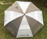 Guarda-chuva dobro do golfe do dossel Windproof