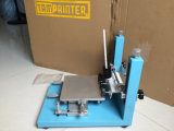 Machine d'impression manuelle d'écran pour de petits produits en plastique, bâti d'écran en métal et table de travail plus mince
