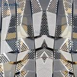 Les panneaux muraux en aluminium perforé modèle façade décorative
