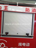 호차 셔터가 알루미늄 화재 차량에 의하여 위로 구른다