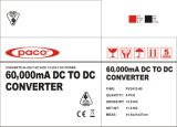 12V 60A 디지털 표시 장치 Paco/Ligao에 DC 변환기 24V에 전문가 DC