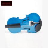 Скрипка студента переклейки оптового дешевого цены голубая