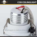Empotrables de techo LED 3W Downlight Spotlight COB
