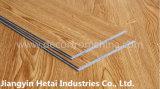 Klicken-Verschluss-Vinylplanke, wasserdichter Vinylbodenbelag, Plastik-Belüftung-Bodenbelag