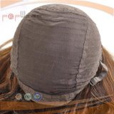 Peluca Weft hecha a máquina de la caída de la venda del pelo humano (PPG-l-0662)