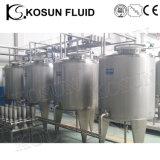 Vruchtesap 1000L die van de Stropen van de Carbonatie van de Drank van het roestvrij staal het Sanitaire Tank mengen