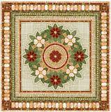 花模様のカーペットのタイルの磨かれた水晶陶磁器の床タイル1200X1200mm (BMP23)