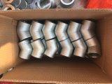 Tubo de rosca de 90 grados de forjado, adaptadores de rosca NPT codos