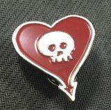 Cruz Roja de metal Soft enamel Square insignia de solapa (XD-0707)