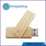 최고 가격에 나무로 되는 강선전도 USB 지키