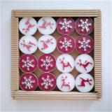 Decoratieve Kaars van Tealight van de Grootte van de Kaars van Kerstmis de Kleine