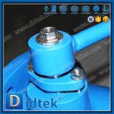 Didtek disco totalmente abierta la válvula de retención de la mariposa de acero al carbono