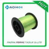 De fluo-groene Vislijn van het Polyamide van de HoofdLijn van de Kleur Transparante Nylon