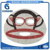 Le Tencel Soins De La Peau Masque facial feuille imprimée