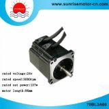 motor de la C.C. Motor24V 157W 3000rpm 0.5nm BLDC del motor eléctrico del motor de la C.C. 70bl3a60