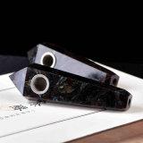 Da tubulação de cristal da mão do fogo-de-artifício da tubulação da mão tubulação de fumo material natural de fumo