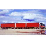 Alto coperchio rosso popolare del B-Triplice-Camion di Deniel