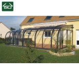 Ot, das Spitzenpuder beschichteten Aluminiumrahmen für Kabinendach, Patio-Deckel und Dach verkauft