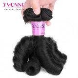 イボンヌの熱い販売のバージンの毛の拡張新しい質のFumiの毛のばねのカール