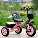Triciclo del bambino del triciclo dei capretti con il carraio Trike di musica tre