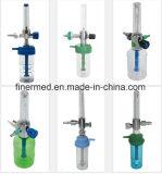 流量計が付いている医学の酸素の調整装置