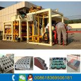 Semi-automatique machine à briques de ciment avec une haute qualité