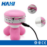 小型ピンクのMasagger Btの音楽プレーヤー
