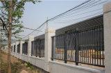 Clôture en acier galvanisée industrielle résidentielle classique personnalisée de premier niveau
