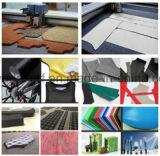 Estaca inteiramente automática industrial de pano/couro/vestuário/matéria têxtil/tela da máquina de estaca da tela das multi camadas do CNC